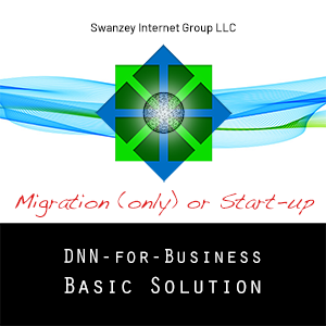 DNN Basic Solution Migration (only) or Start-up