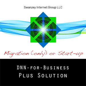 DNN Plus Solution Migration (only) or Start-up