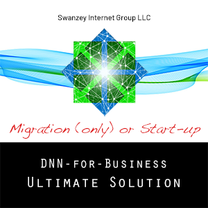 DNN Ultimate Solution Migration (only) or Start-up